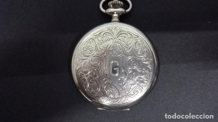 Relojes: RELOJ JUNGHANS BOLSILLO PLATA - Foto 3 - 110245759