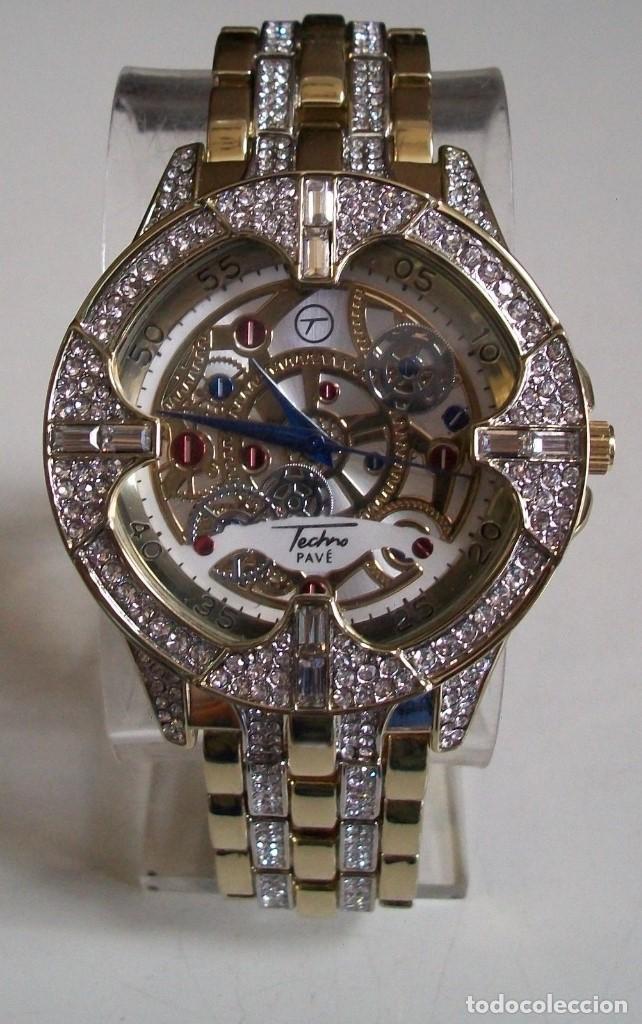 De Lujo Vestido Iced Moda Laboratorio Bling Hip Hop Estilo Rapero Diamantes Reloj Men's QrdCBeWxo