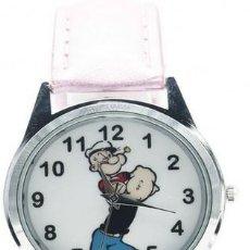 Relojes: RELOJ POPEYE (COLOR ROSA). Lote 111472163
