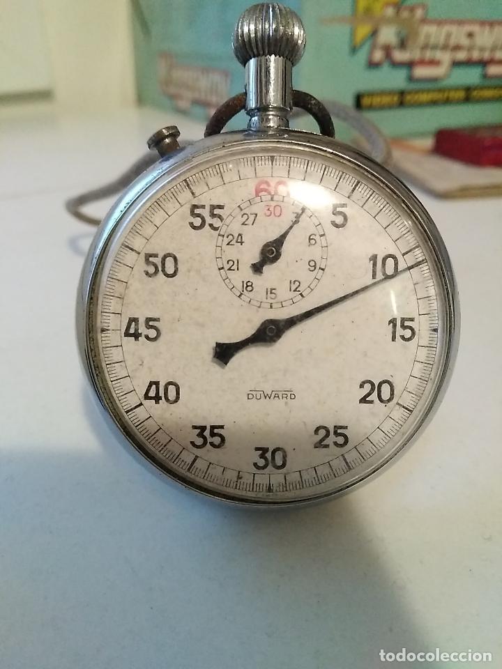 CRONÓMETRO DUWARD SEXAGESIMAL CON DOS TAPAS (Relojes - Relojes Actuales - Otros)