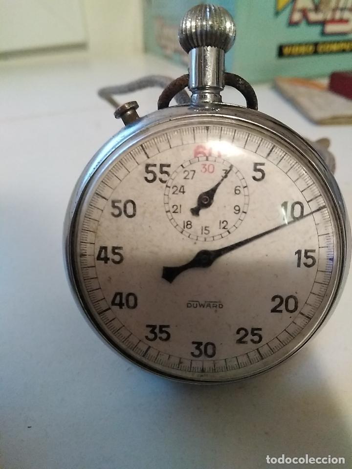 Relojes: Cronómetro Duward sexagesimal con dos tapas - Foto 6 - 111488463