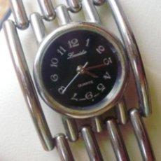 Relojes: RELOJ DE MUJER MARCA LUCIDA QUARTZ, JAPAN MOVEMENT, CORREA DE ACERO INOXIDABLE. Lote 111541431