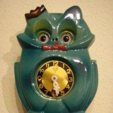Relojes: RELOJ INFANTIL DE PENDULO FUNCIONANDO CON CAJA Y LLAVE COMO NUEVO JAPAN JAPON. Lote 111601603