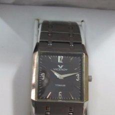 Relojes: RELOJ VICEROY TITANIUM DE CUARZO - CON SU ESTUCHE. Lote 111694991