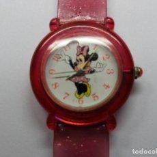 Relógios: RELOJ DE LA MARCA DISNEY, MINNIE MOUSSE, FUNCIONA BIEN.VINTAGE.. Lote 111736271