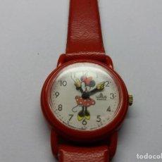 Relógios: RELOJ LORUS, MINNIE MOUSSE,FUNCIONA BIEN.VINTAGE. Lote 111736539