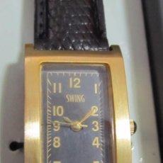 Relojes: RELOJ SWING DE CUARZO - CON ESTUCHE. Lote 112793087