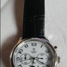 Relojes: MARC WATCHES 41 MMS CHRONO QUARTZ ESTADO BUENO. Lote 113028259