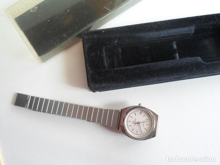 RELOJ MUJER - SUIZO - MARCA CONTINENTAL - CON CALENDARIO - CUARZO - AÑOS 80 (Relojes - Relojes Actuales - Otros)