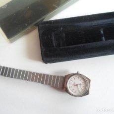 Relojes: RELOJ MUJER - SUIZO - MARCA CONTINENTAL - CON CALENDARIO - CUARZO - AÑOS 80. Lote 113156963