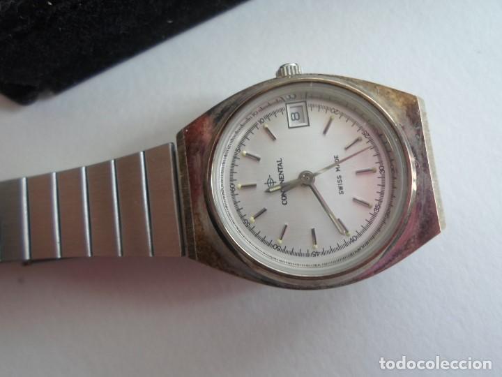 Relojes: RELOJ MUJER - SUIZO - MARCA CONTINENTAL - CON CALENDARIO - CUARZO - AÑOS 80 - Foto 3 - 113156963