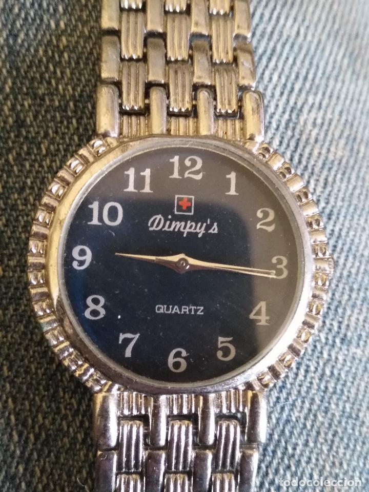 Relojes: RELOJ PLATEADO MARCA DIMPY´S - Foto 2 - 114164123