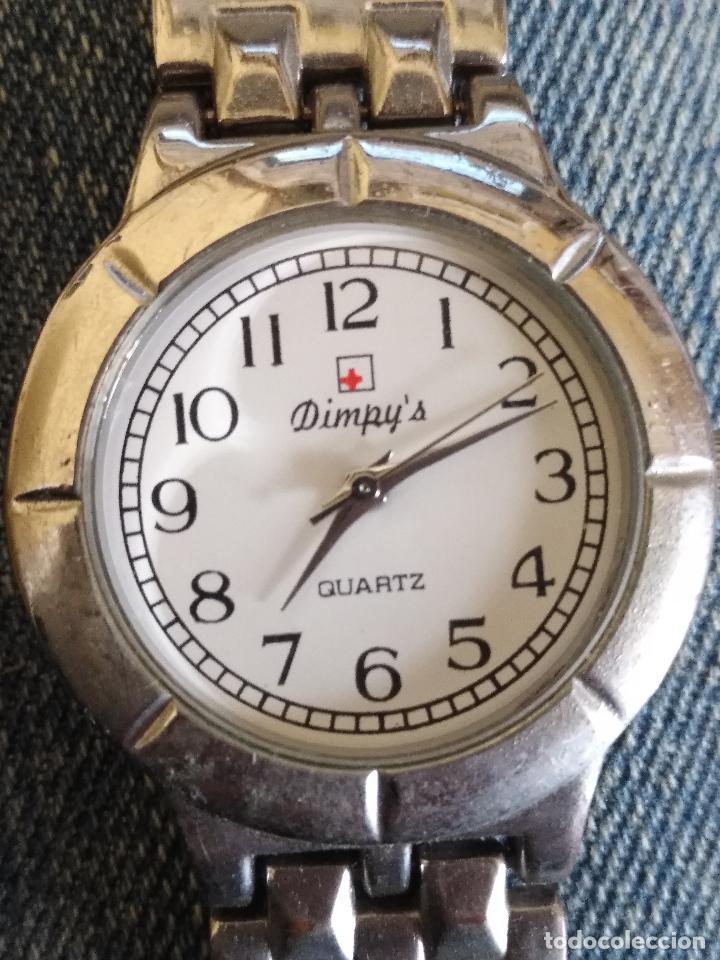 RELOJ MARCA DIMPY´S PLATEADO (Relojes - Relojes Actuales - Otros)