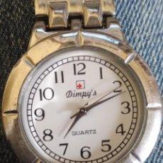 Relojes: RELOJ MARCA DIMPY´S PLATEADO . Lote 114165699
