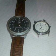 Relojes: LOTE DOS RELOJES RELOJ. Lote 114368610