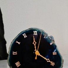 Relojes: RELOJ EN PIEDRA BRASILEÑA. Lote 114666355