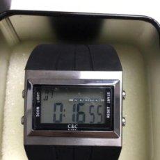 Relojes: RELOJ C&C DIGITAL QUARZO MULTIFUNCION NUEVO EN SU CAJA. Lote 114787187