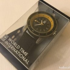 Relojes: RELOJ DE PULSERA WORLD TIME INTERNATIONAL. Lote 115075379