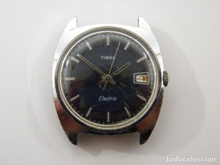 Timex leer Electric Fotos Reloj Antiguo hombre OPkiZuX