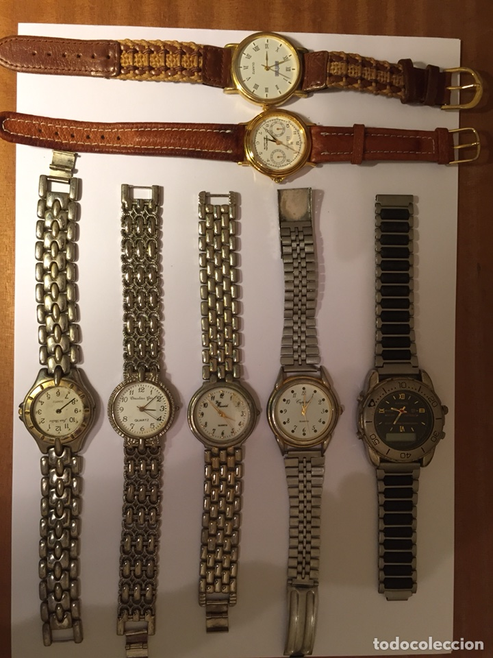 LOTE RELOJES VARIOS (Relojes - Relojes Actuales - Otros)