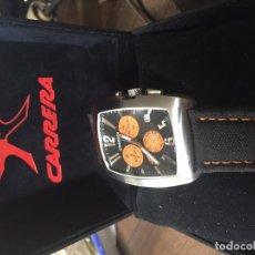 Relojes: RELOJ CRONOGRAFO CARRERA EN SU CAJA VER FOTOS. Lote 115493607