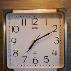 Relojes: RELOJ DE PARED RHYTHM WESTMINSTER CHIME. CON SONERIA Y MECANISMO DE CUARZO. AÑOS 80 - 90. Lote 115659606