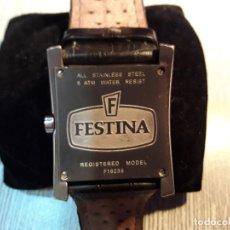 Relojes: FESTINA F16235/F - RELOJ DE CABALLERO DE CUARZO, CORREA DE PIEL COLOR NEGRO. Lote 116135739