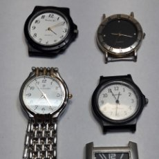 Relojes: RELOJ QUARZO LOTE 5 RELOJES DISTINTAS MARCAS. Lote 116663655