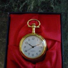 Relojes: RELOJ DE BOLSILLO. DE COLECCIÓN. FUNCIONANDO A PILAS. DÍAMETRO 4,5 CMS,. Lote 116722983