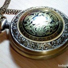 Relojes: RELOJ BOLSILLO STEAMPUNCK DRAGON FENIX.. Lote 116822079