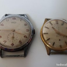 Relojes: 2 RELOJES PARA RESTAURAR ( UNO MARCA CARTEL ) NO FUNCIONAN. Lote 116864723