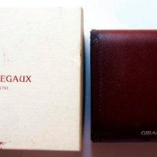 Relojes: GIRARD PERREGAUX CAJA PIEL Y CARTON. Lote 116902207