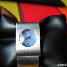 Relojes: RELOJ DE SEÑORA DOGMA CON PULSERA METÁLICA .. Lote 116972539