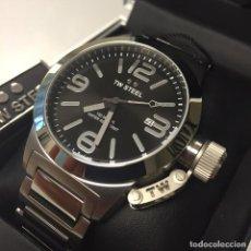 Relojes: ELEGANTE RELOJ NUEVO DE LUJO DE LA MARCA TW STEEL CANTEEN CON MOVIMIENTO CUARZO MIYOTA P.V.P 299€. Lote 117002083