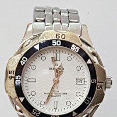 Relojes: RELOJ BLUMAR VX-32.CON CORREA DE ACERO.. Lote 117113975
