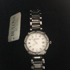 Relojes: RELOJ SEÑORA MARCA BULOVA DIAMONDS NUEVO EN CAJA. Lote 117401711