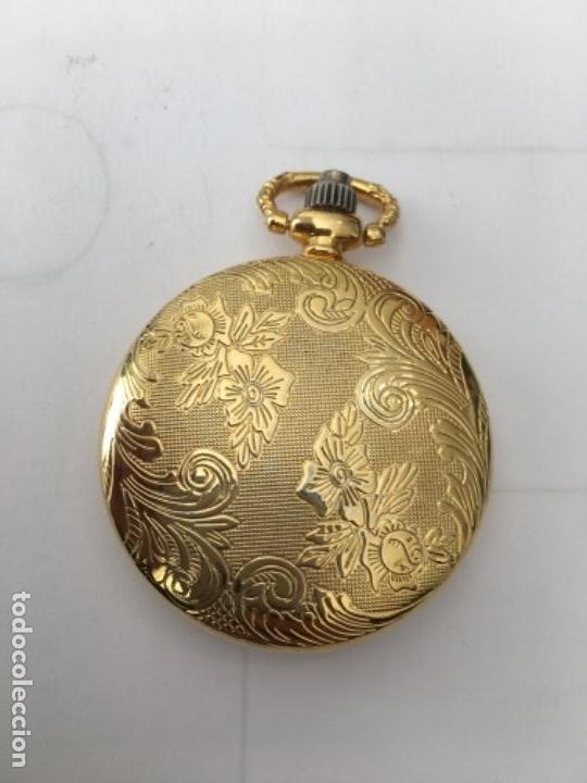 Relojes: Reloj de Bolsillo metálico chapado Quarzo nuevo - Foto 2 - 117516115