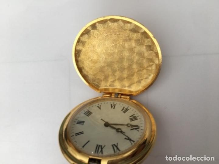 Relojes: Reloj de Bolsillo metálico chapado Quarzo nuevo - Foto 4 - 117516115