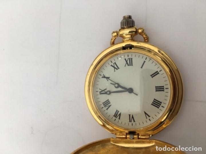 Relojes: Reloj de Bolsillo metálico chapado Quarzo nuevo - Foto 5 - 117516115
