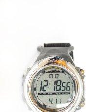 Relojes: RELOJ MARCA SLAZENGER DIGITAL DEPORTIVO UNISEX CORREA DE VELCRO NUEVO CON CAJA IDEAL REGALO. Lote 117524539
