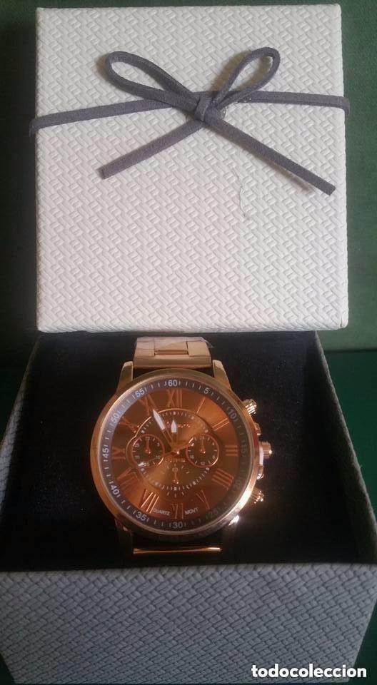 Relojes: Reloj de Pulsera / Unisex / Acero inoxidable / COLOR ORO ENVEJECIDO - Foto 3 - 183482487