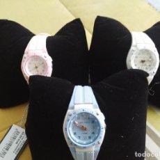 Relojes: OCASION !! PVP 708 EUROS!!! LOTE DE 12 RELOJES DE PULSERA TIME FORCE DE MUJER O NIÑA. Lote 118517935