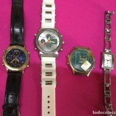 Relojes: LOTE CUATRO RELOJES PARA REPARAR . Lote 118589731