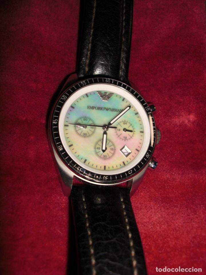 c6af8205f69 Reloj emporio armani modelo ar-5670 acero