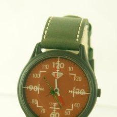 Relojes: PRIVATA QUARTZ DE PILOTO NUEVO A ESTRENAR CON PEGATINAS FUNCIONANDO. Lote 119212907