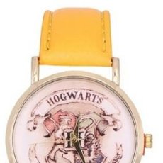 Relojes: RELOJ HARRY POTTER HOGWARS (COLOR AMARILLO). Lote 119252423
