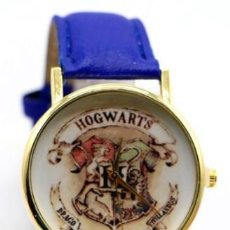 Relojes: RELOJ HARRY POTTER HOGWARS (COLOR AZUL). Lote 119252603