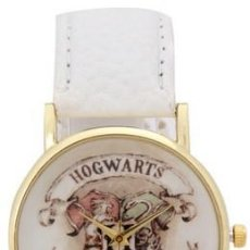 Relojes: RELOJ HARRY POTTER HOGWARS (COLOR BLANCO). Lote 119252643