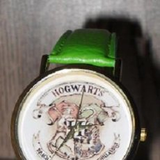 Relojes: RELOJ HARRY POTTER HOGWARS (COLOR VERDE). Lote 119252967