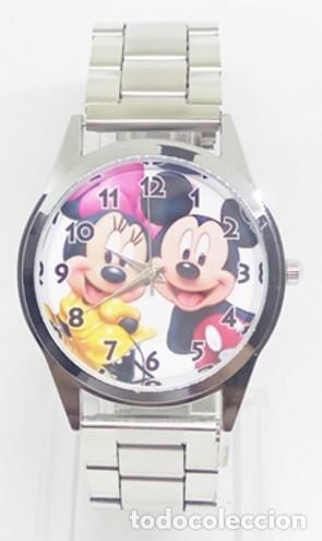 Minniemodel Mickey Reloj De Mouse 1correa Metal OPkXuwZiT